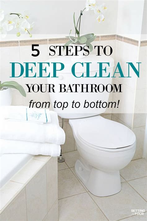 bathroom deep cleaning 17 best ideas about cleaning lists on pinterest deep