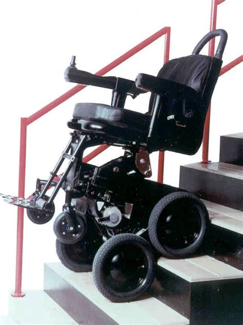 motorized chair for stairs toyota joins dean kamen on wheelchair that climbs stairs