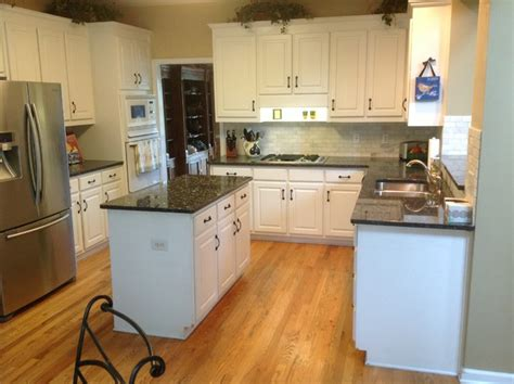 Blue Pearl Granite With White Cabinets by Blue Pearl Granite Countertops Traditional Kitchen