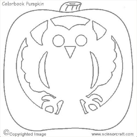 printable owl pumpkin patterns free printable owl template coloring home