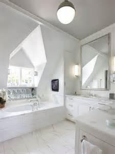 Sloped Ceiling Chandelier L Shaped Vanity Design Ideas