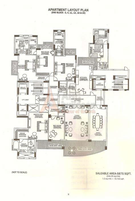 dlf summit floor plan floorplan in dlf magnolias floor plan floorplan in