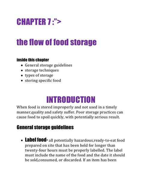 the flow store the flow of food storage 1
