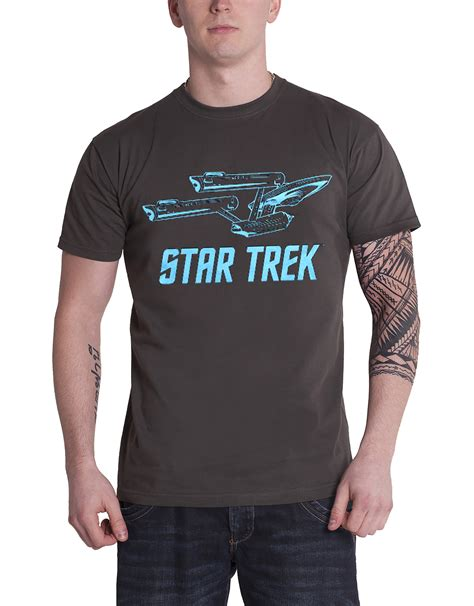 Trek 2 Mens T Shirt trek t shirt enterprise dr spock kirk costume