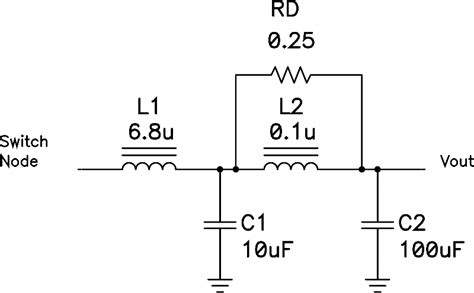 inductor noise filter power tip 54 use 2 section filter for low noise power supply ee times