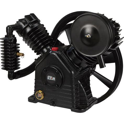 northstar air compressor 2 stage 2 cylinder 24 4 cfm 90 psi 175 max psi ebay