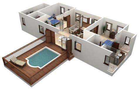 3d Home Exterior Design Software Free by Planos De Casas Y Apartamentos En 3 Dimensiones