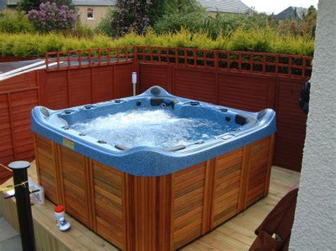 bathtub hot jacuzzi hot tub in scotland