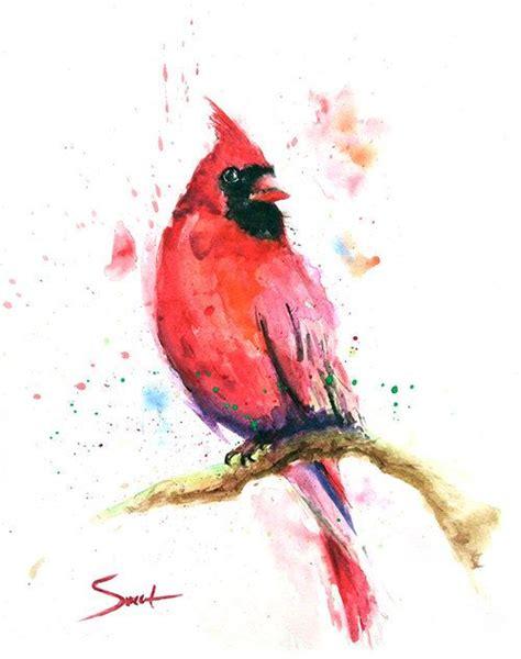 1000 ideas about watercolor bird watercolor cardinal print bird painting bird