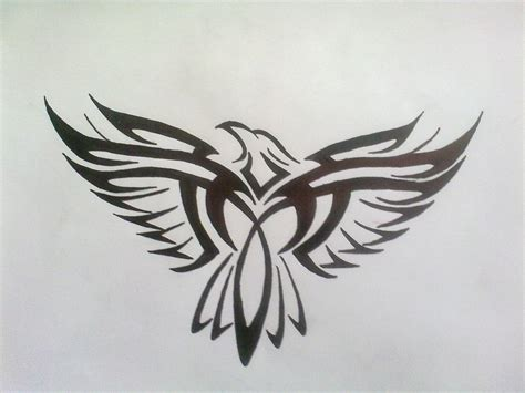 eagle tattoo tribal art tribal eagle tattoo by bogi90 on deviantart