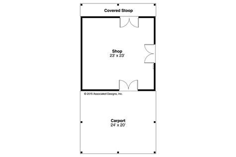 house shop plans country house plans shop w carport 20 172 associated designs