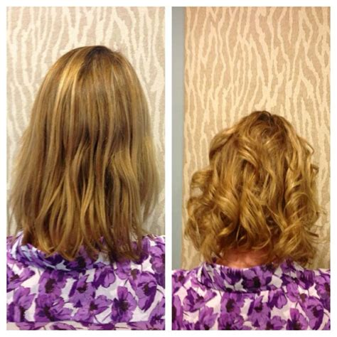 american wave perm american wave before and after by heidi of salon sabeha