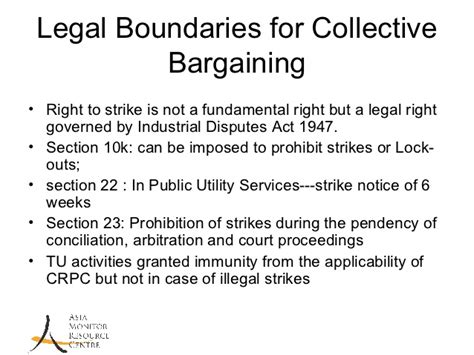 section 9 arbitration act collective bargaining india