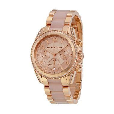 Jam Tangan Wanita Mkmichael Kors 1 jual michael kors blair chronograph mk5943 jam tangan wanita gold harga