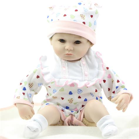 Handmade Baby Dolls - 18 inch silicone baby doll collectible reborn baby doll