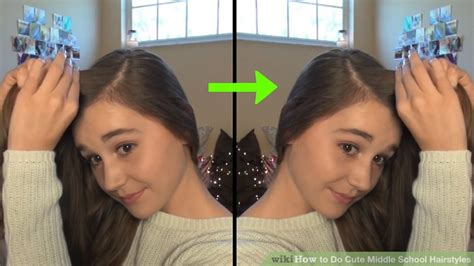 middle school hairstyles wikihow photos hairstyles for middle school black
