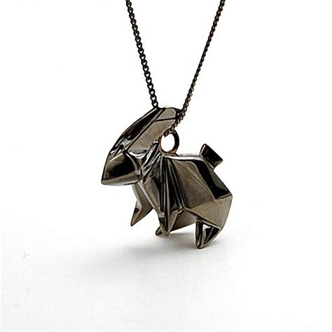 Origami Necklace - not paper craft but origami necklace gadgetsin