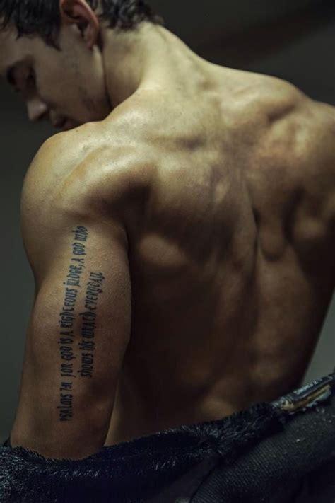 christian holmes tattoo bible verse tattoo ben tattoo placements pinterest