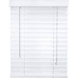 2 inch faux wood blinds white better homes and gardens 2 quot faux wood blinds white
