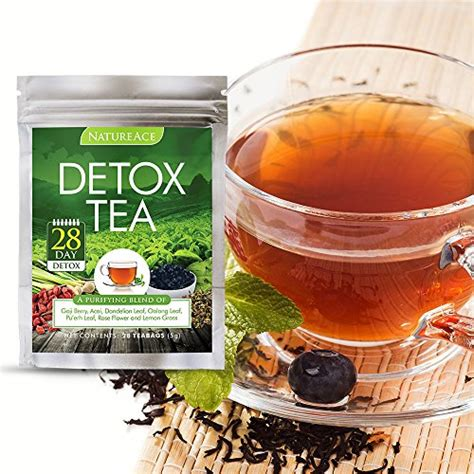 Asian Detox Tea by Nature Ace 28 Day Detox Tea Best For Teatox