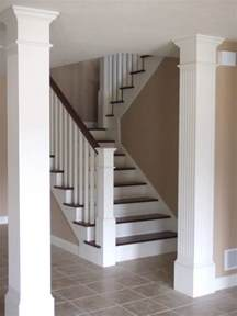 interior columns columns interior custom homes by tompkins construction