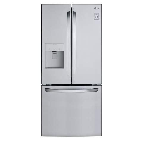Water Dispenser Lg lg 22 cu ft door refrigerator with external water