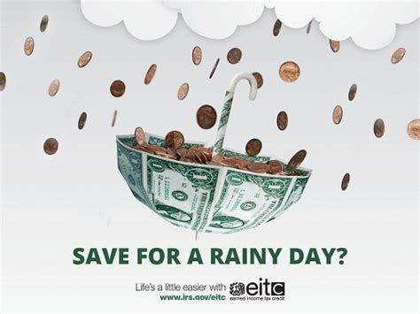 For A Rainy Day by Eitc Awareness Day Put The Earned Income Tax Credit To