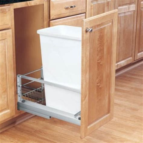 Rev A Shelf Pull Out Trash by Rev A Shelf Single Soft Pull Out 50 Qt Trash Can
