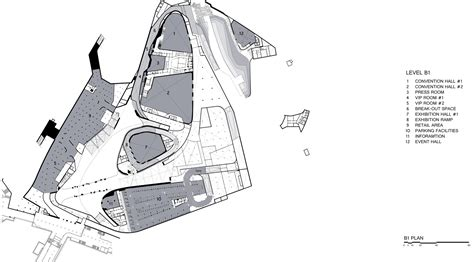 zaha hadid floor plan gallery of dongdaemun design plaza zaha hadid architects 19