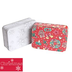 buy christmas gift tin case of 48 at home bargains