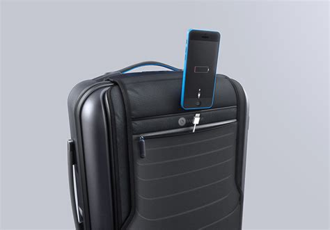 charging for carry on bags bluesmart smart luggage that charges your phone