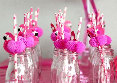 evas pink flamingo birthday party  poppet living