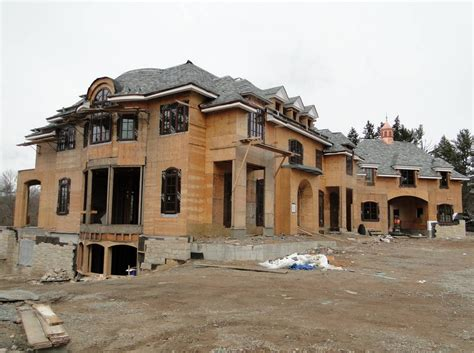 Townhouse Floor Plans James Paragano Designed Mansion Under Construction In