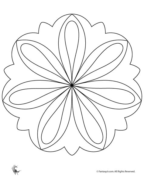 simple mandalas to print and color free coloring pages of mandalas easy