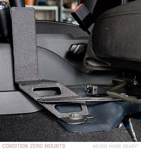 seat gun safe jeep wrangler condition zero gfpm jeep jk wrangler gun pistol