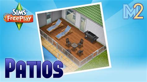 sims freeplay patio quest tutorial walkthrough