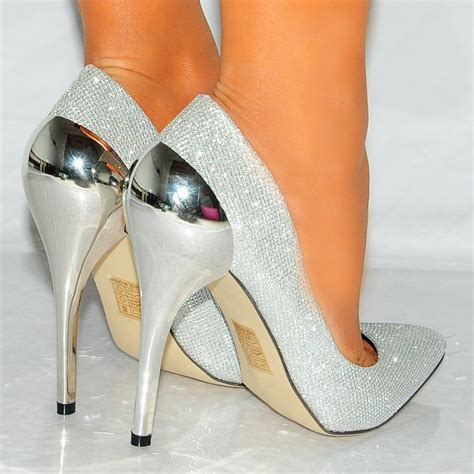 silver high heels chatter box sal4 silver high heels chatter box
