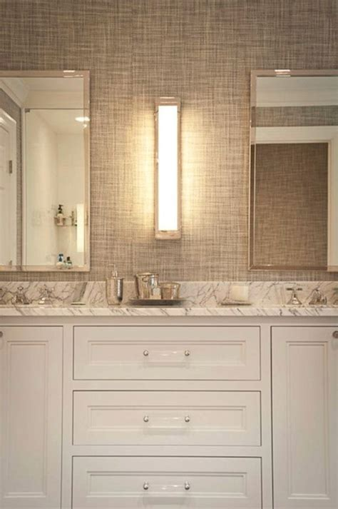 master bath decorating ideas 2017 grasscloth wallpaper bathroom vanity with lucite pulls for the home pinterest