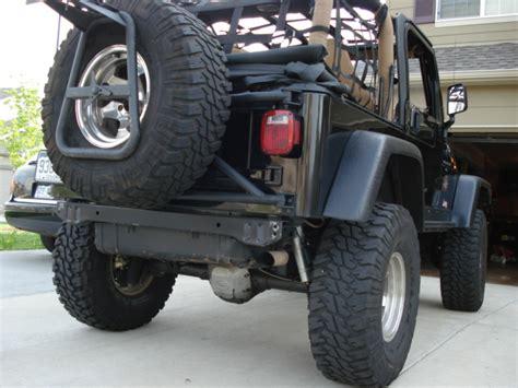 Mopar Jeep Bike Rack by Jeep Wrangler Bumpers And Wheel Carriers Mopar Car