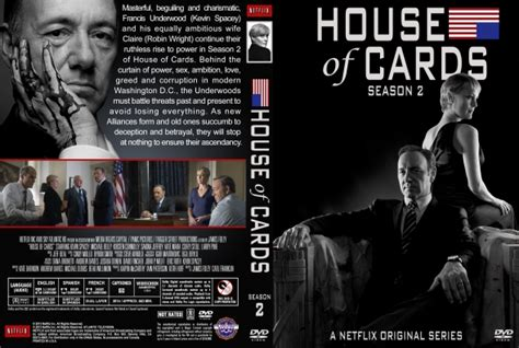 House Of Cards Dvd by House Of Cards Season 2 Dvd Covers Labels By Covercity
