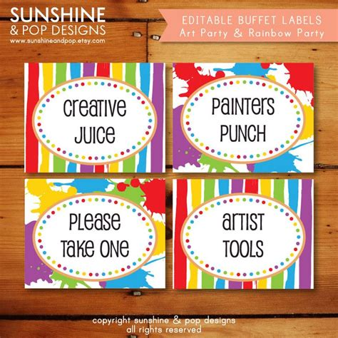 free printable paint splatter name tags the template can 25 best ideas about food cards on pinterest valentines
