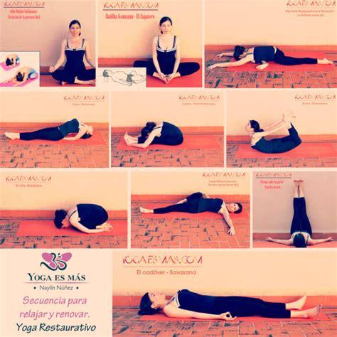 Imagenes De Yoga Restaurativo | yoga restaurativo 10 posturas para relajar y renovar