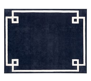 pottery barn navy rug hotel bordered rug navy pottery barn