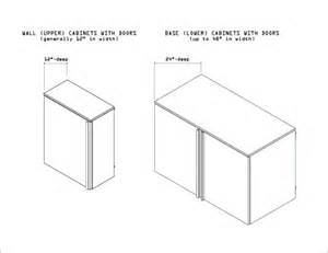 Depth Of A Kitchen Cabinet How To Buy Garage Storage Cabinets Step 7 Design A Layout For Your Garage Using Standard