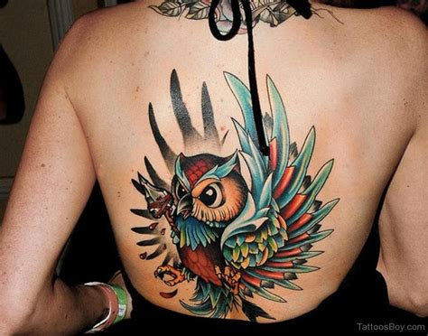 tattoo owl back owl tattoos tattoo designs tattoo pictures page 3