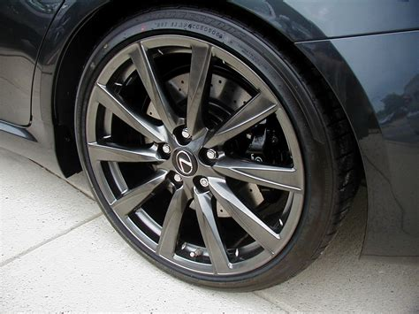 lexus rims factory wheel color lexus isf is f lfa lf a forum