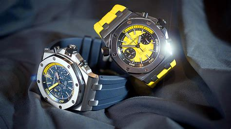 Audemars Piguet Ap Diver Chrono Biru audemars piguet royal oak offshore diver chronograph