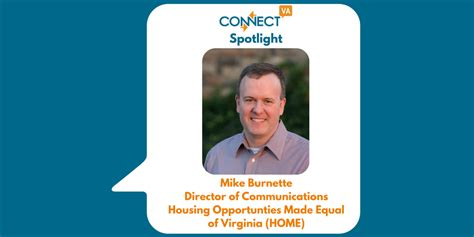 housing opportunities made equal connectva spotlight mike burnette housing opportunities made equal of va home
