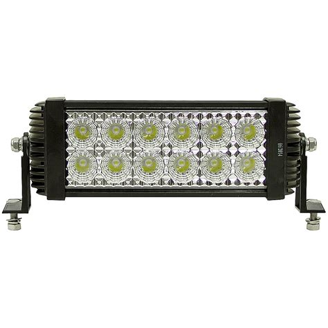 Led Flood Light Bar 12 Led 12 24 Vdc 2400 Lumen Spot Flood Light Bar Dc Mobile Equipment Lights Lights