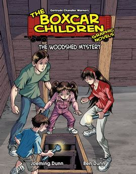 the mystery a graphic novel boxcar children graphic novels gt series gt abdo